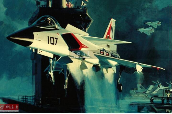美60年代隐身战机揭秘