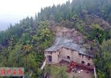 探寻万佛山石窟:是一座开凿在崖岭上的石窟