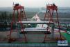 北京轨道交通新机场线开始架梁