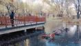 沈阳五辆共享单车被弃公园湖中 破坏共享单车或被拘留