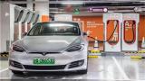 特斯拉全球最大充电站上海投入使用
