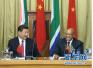 习近平同南非总统祖马互致贺电 庆祝两国建交20周年