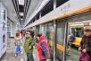 沈阳地铁2号线北延线开通 4座新开车站进站客流超3千人次