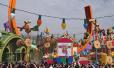 """上海迪士尼""""迪士尼·皮克斯玩具总动员""""主题园区今天开幕"""