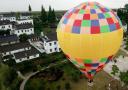 热气球看美丽乡村