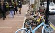 """滴滴共享单车""""试水""""南京校园 主管部门:不得上路骑行"""