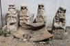 北京一工地挖出4尊汉白玉螭首 疑出自圆明园