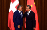 王毅同丹麦外交大臣萨穆埃尔森举行会谈