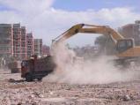 一移交工程就放任扬尘污染 工地将被罚款3万