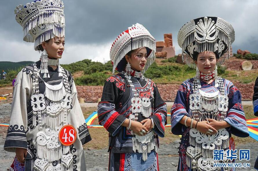 凉山彝族最美的姑娘