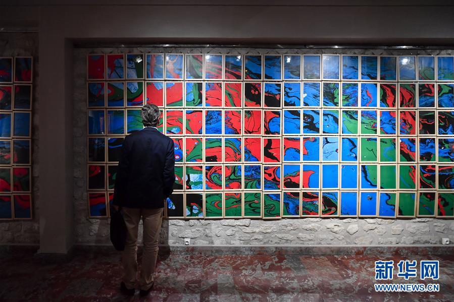 中国艺术家宋冬《Odi》作品欧洲巡回展在巴黎举行