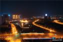 河南三门峡:夜景灯光璀璨