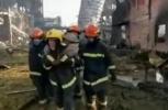 江苏盐城爆炸事故现场救出一名40岁左右男性生还者