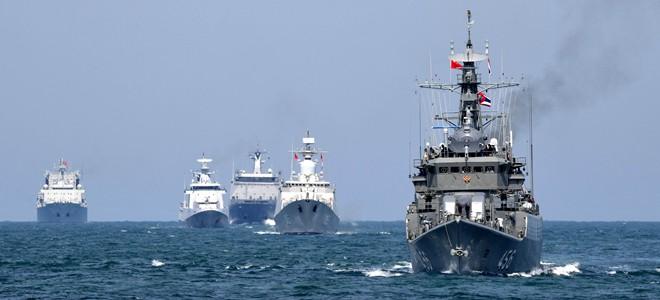 """中国-东南亚国家""""海上联演—2019""""在青岛举行"""