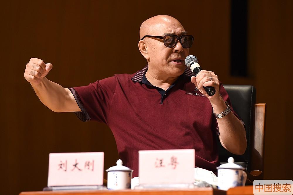 图为《西游记续集》沙僧扮演者刘大刚。中国搜索宋家儒摄