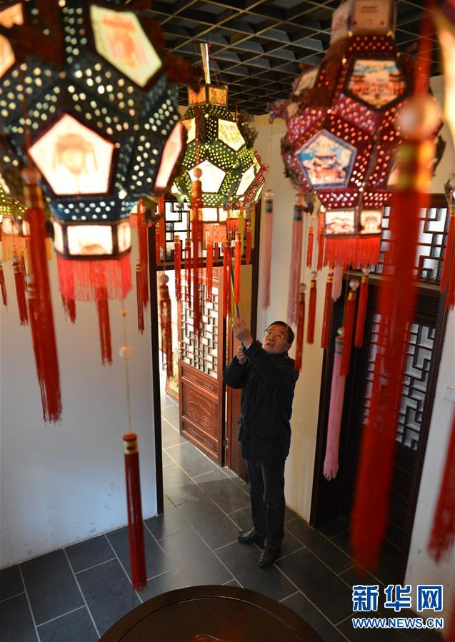 (图片故事)(10)张俊涛:让更多人了解传统灯笼文化