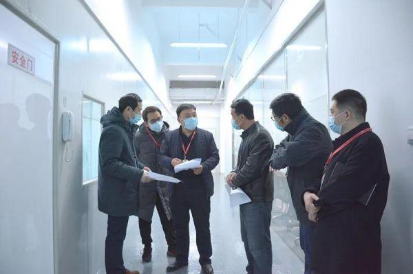 西安高新食药监分局助力点云生物医用口罩生产8