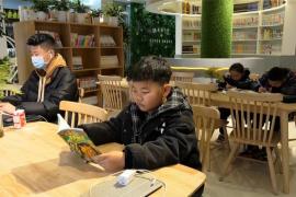 河南淅川:春节假期掀起读书热