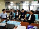 潢川县教体局局长黄建新一行调研指导营商环境工作