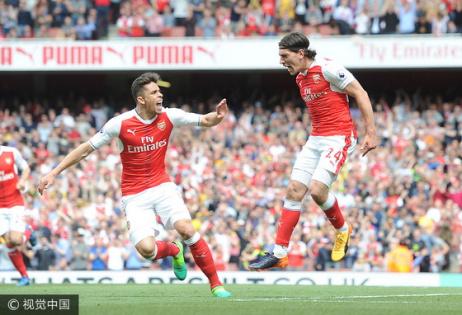 英超-鐵衛染紅 阿森納3-1排名第5無緣歐冠