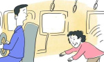 瀋陽一老人在公交車上摔破頭 一車乘客只有她留下了