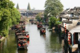 西塘古镇实现旅游智能新体验