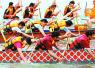 上海华亭湖上龙舟竞渡 吸引30支龙舟队