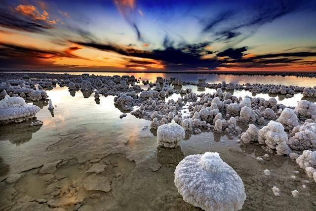 中国最大盐湖 价值12万亿 像一片冰雪世界