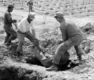 战死朝鲜的志愿军战士