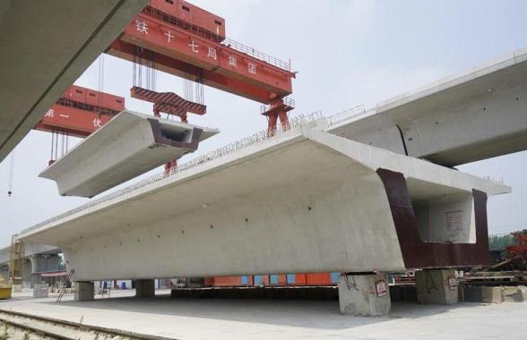 郑万高铁河南段线下工程基本完工 时速350公里