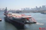 首艘国产航母或近期海试,预计下半年交付