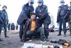 警方围捕恶势力头目