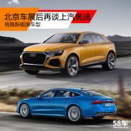 北京车展后再谈上汽奥迪 将推新能源车型