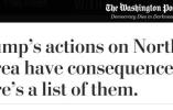 朝鲜对特朗普反应如此平静 西方媒体:坏了