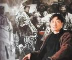 河南画家李伯安十年如一日扎根太行山 用画笔塑造民族脊梁