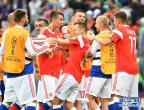 世界杯揭幕战:俄罗斯队胜