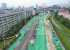 济南:西南城三条道路正赶工 老刘长山路今年年底将完工