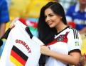 美女球迷:世界杯的靓丽风景