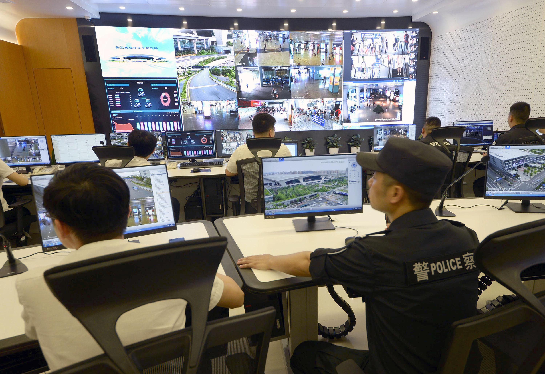 杭州火车东站智慧高铁枢纽应急指挥中心启用