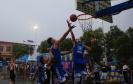 河南宝丰:农民篮球夜市开赛