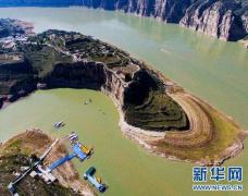 黄河中游潼关站出现今年入汛以来最大的洪水