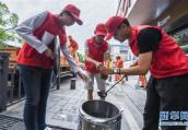 南阳:开展志愿服务活动 推进学雷锋志愿服务制度化