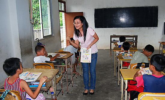 """""""小班化""""教学让农村课堂""""活""""起来"""