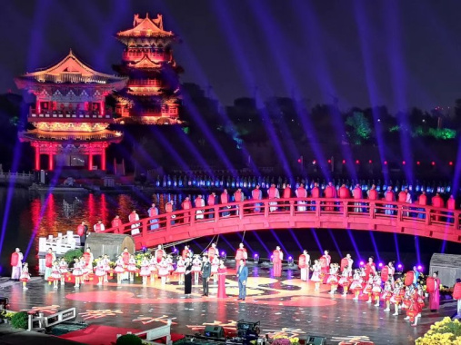 中国开封第36届菊花文化节开幕