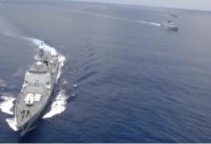 中国海军第31批护航编队昨天启航