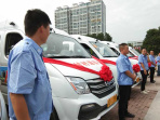 鲁山县:投运农村新客车  方便群众出行