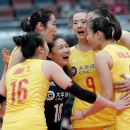 中国女排十连胜