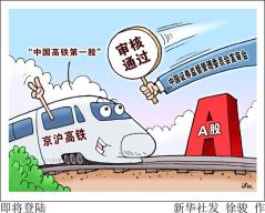 """""""中国高铁第一股""""即将亮相A股 """"京沪高铁""""意义有多深?"""