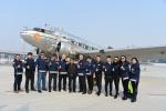 75年机龄古董级飞机降落北京大兴机场 它的故事你听过吗?