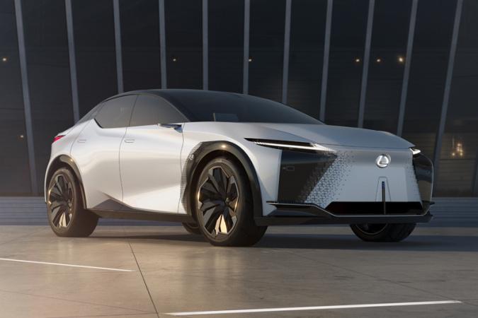 雷克萨斯LF-Z概念车全球首发